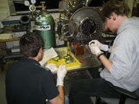 David Jone and Anthony Karam Preparing the Test Article250